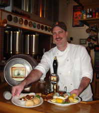 Kurt Linke, executive chef of the Delafield Brewhaus, photo by Lucy Saunders